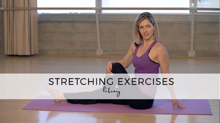stretching exercises library