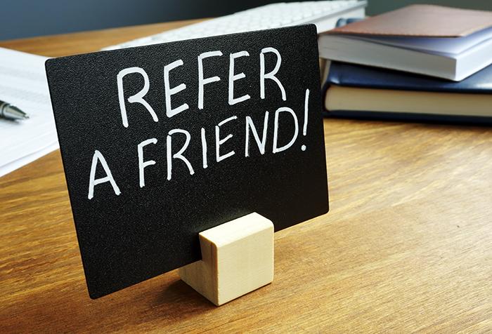 Referral (Refer A Friend)