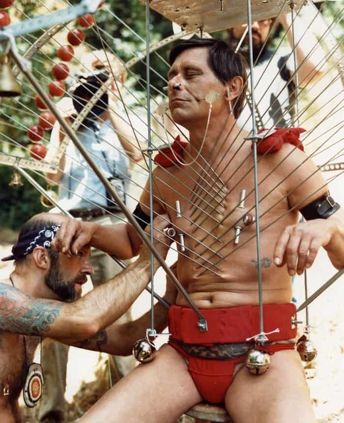 I was captivated by the Kavadi. As much as I love suspension, bearing Kavadi holds a special place / appeal for me. The film and Fakir where a huge inspiration for me building my 1st Kavadi around 1995- Xeon, TSD