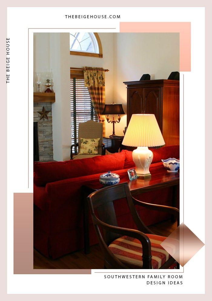 Home Design Ideas Youtube: Southwestern Family Room Design Ideas