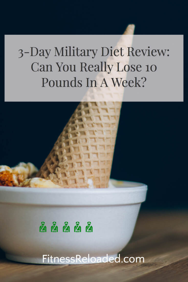 3 day military diet reviews