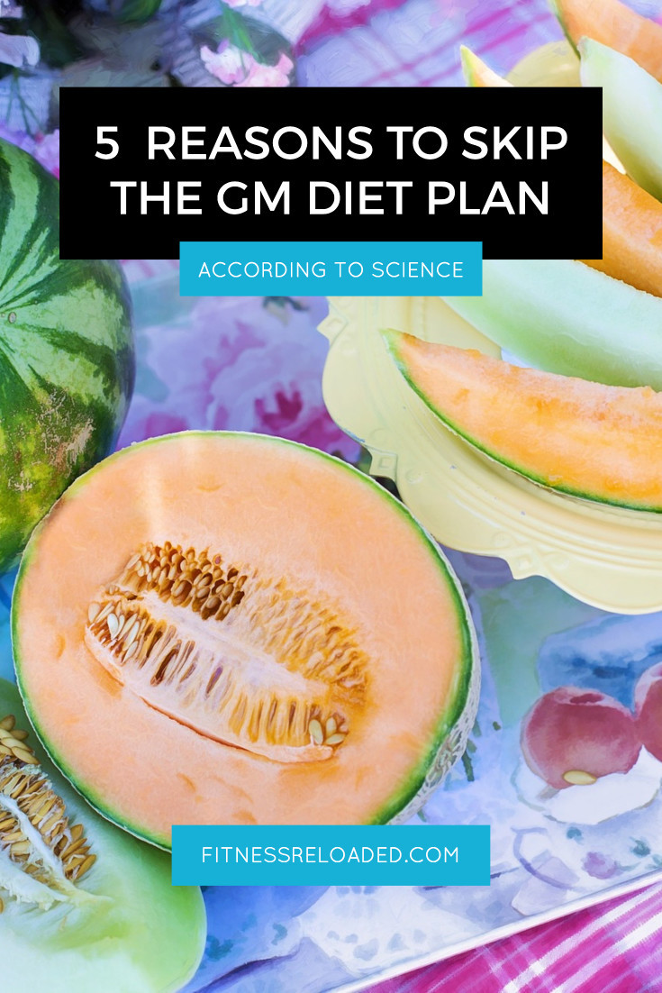 gm diet plan science