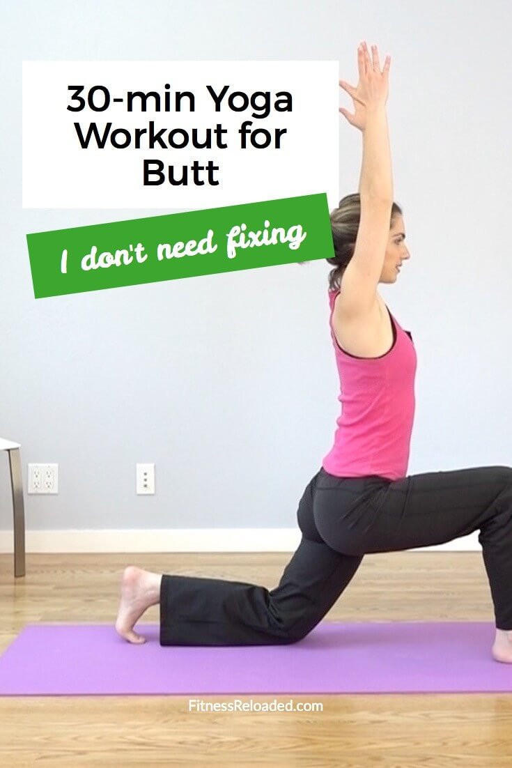 yoga workout for butt