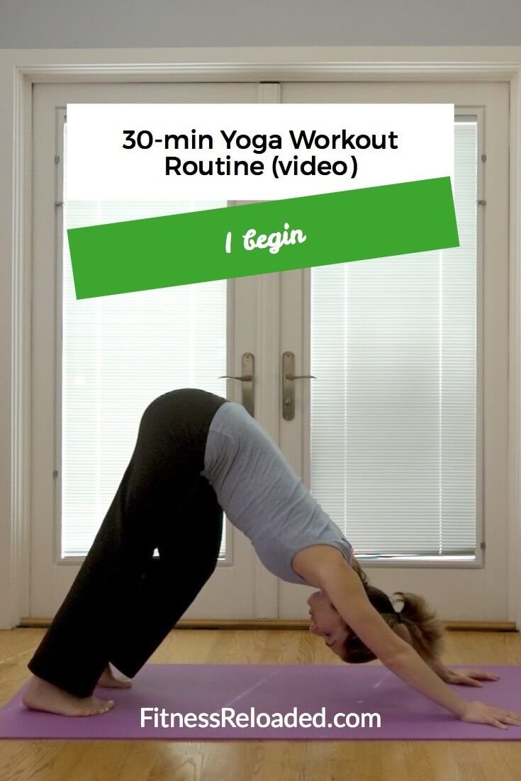 yoga workout routine at home