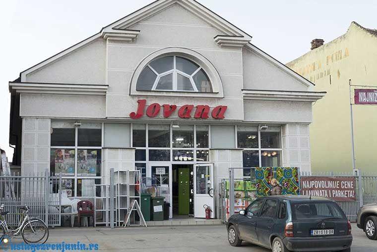 Robna kuca JOVANA Zrenjanin – Salon Jovana Centar