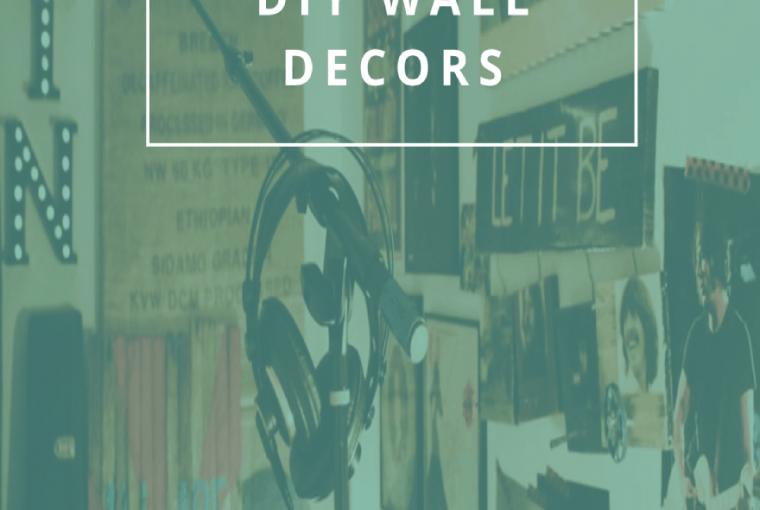 6 DESIGN-SAVVY DIY WALL DECORS
