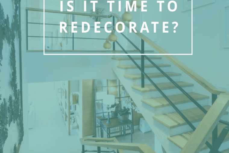 When is it time to redecorate?