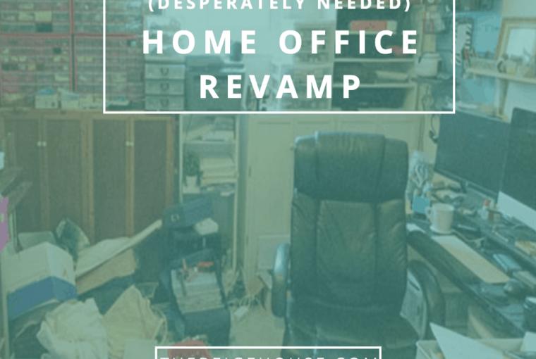 Updating my office: the beginning