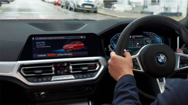 BMW launches world-first eDrive zones in London and Birmingham