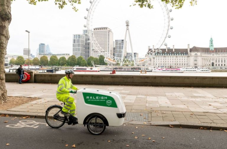 Raleigh testing cargo bikes with Ringway Jacobs and Eurovia