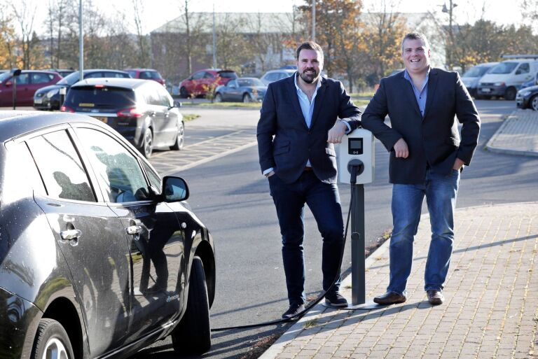 EV company gets £1.5m investment for charging points across the UK