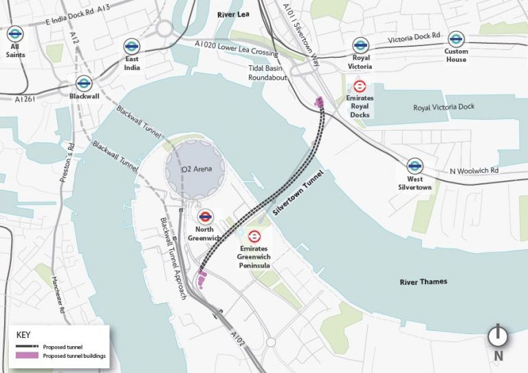 Silvertown Tunnel to cost almost £2bn, says report