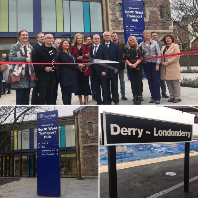 £27 million North West Transport Hub completion a major 'milestone'
