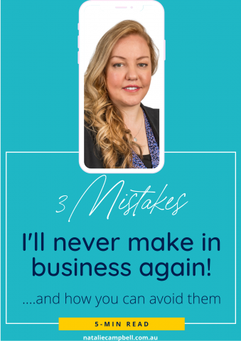 Blog Featured Image - 3 Mistakes in Business