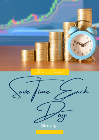 Save Time Each Day Simply | Blog | Natalie Campbell