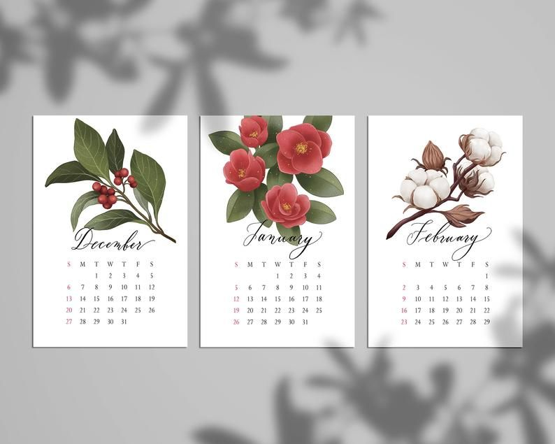 creative eco-friendly calendar