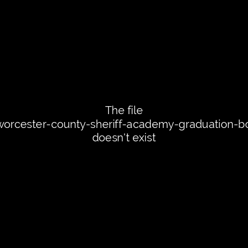 Worcester County Sheriff Academy Grads Take Oath at Private Ceremony 1