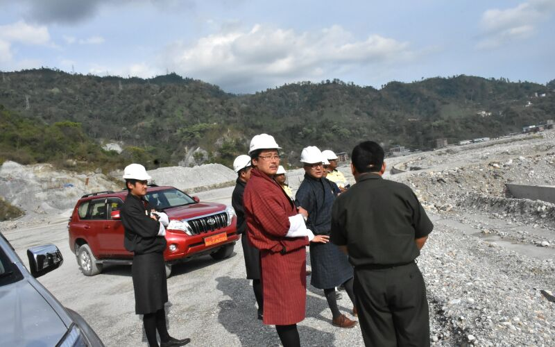 Site Visit by DHI CEO