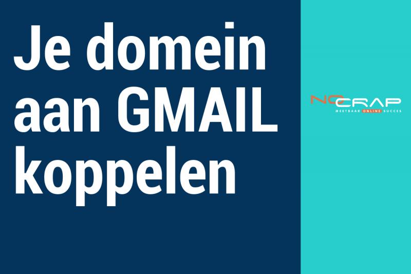 Je domein aan GMAIL koppelen 2