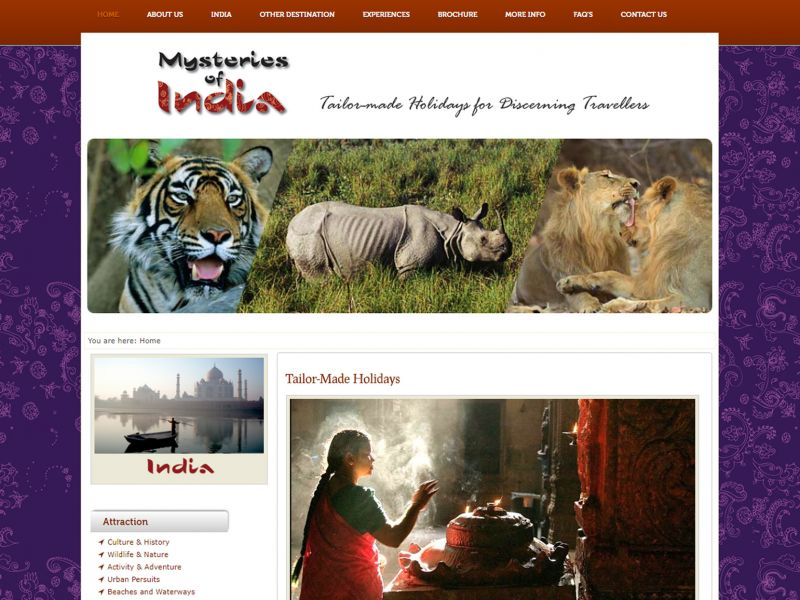 mysteries of India by WebGlobals