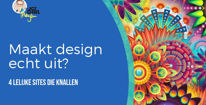 maakt design echt uit - leijke sites