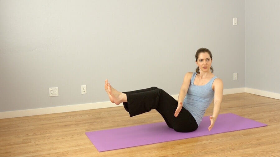 C-abs oblique - Morning Yoga Routine