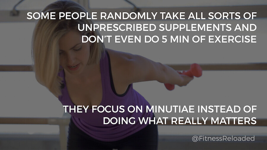 supplements exercise