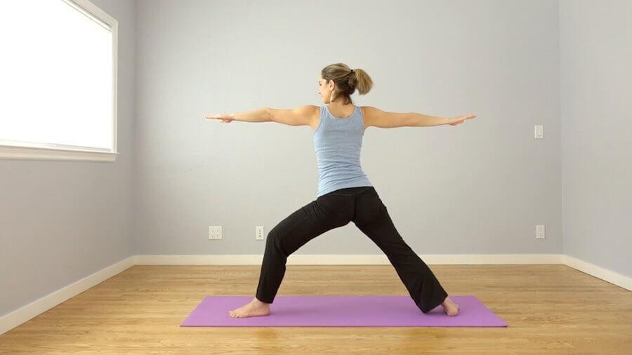 Warrior II - Morning Yoga Sequence