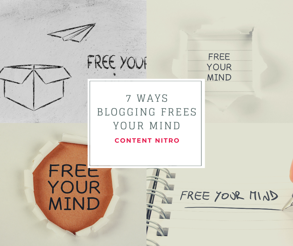 7 Ways Blogging Frees Your Mind