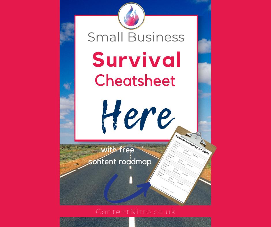 Your Small Business Survival Cheat Sheet via @saraharrow