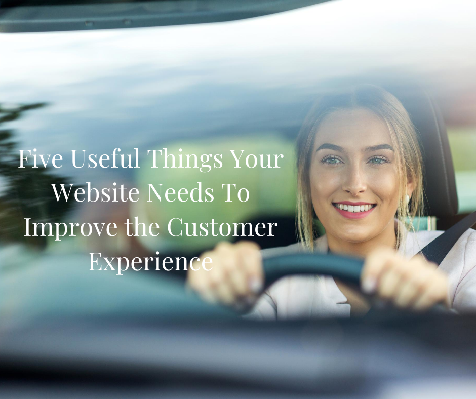 Five Useful Things Your Website Needs To Improve the Customer Experience via @saraharrow