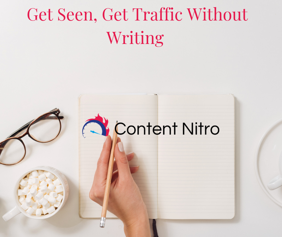 Get Seen, Get Traffic Without Writing via @saraharrow