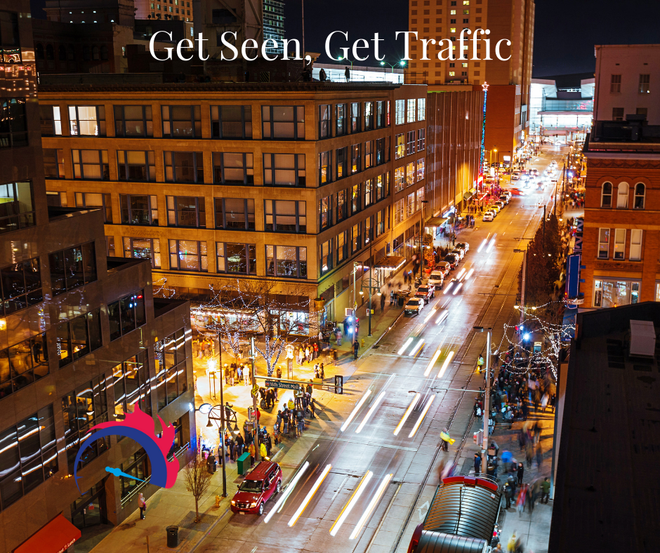 Get Seen, Get Traffic Part 1: Borrow An Audience via @saraharrow