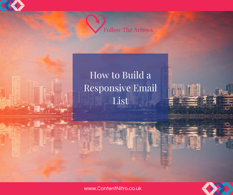 How to Build a Responsive Email List via @saraharrow