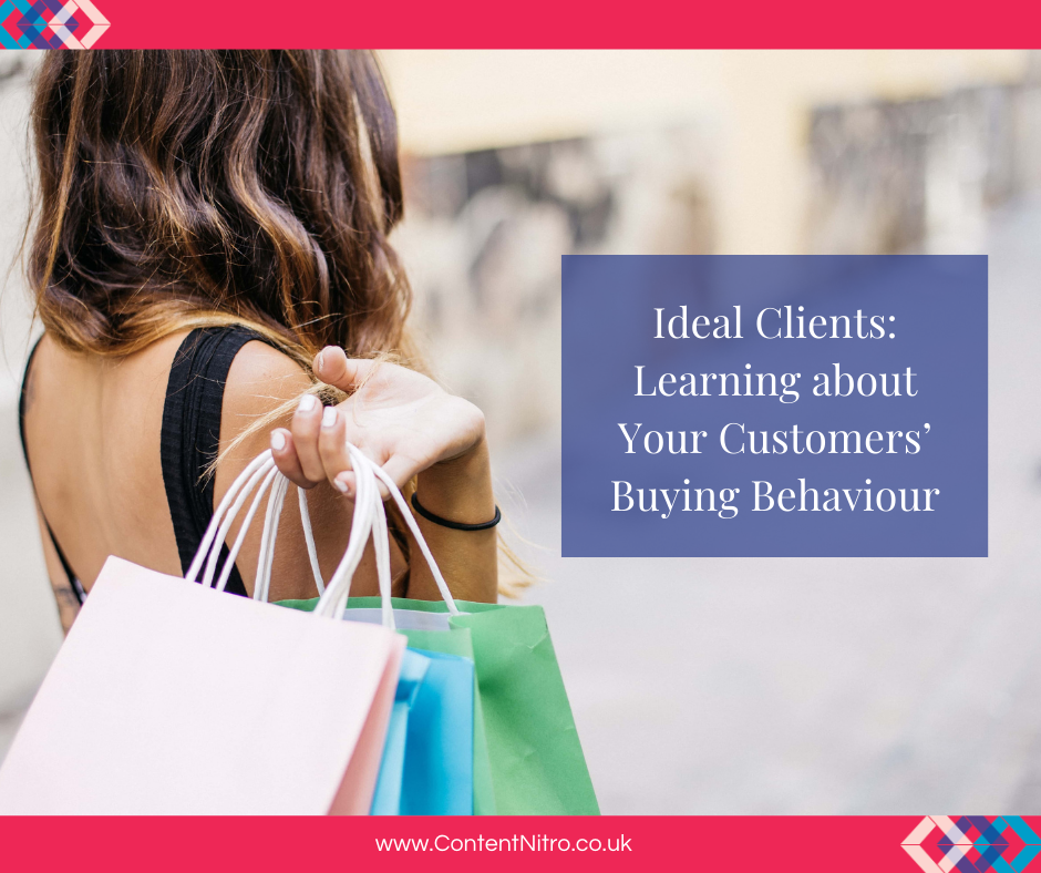 Ideal Clients: Learning about Your Customers' Buying Behaviour