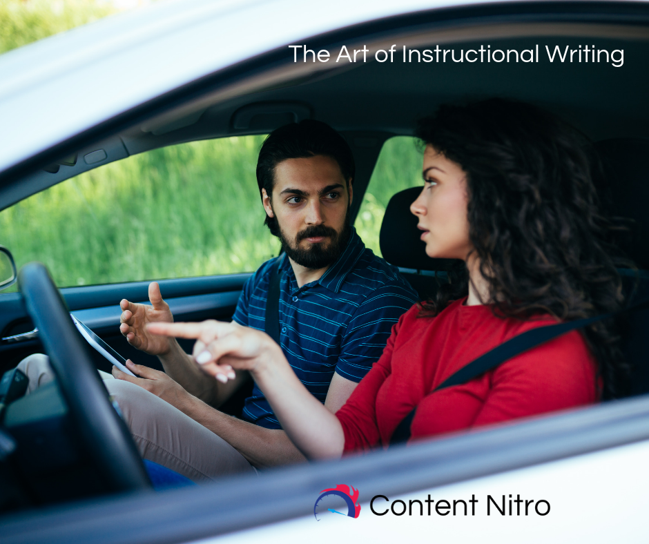 The Art of Instructional Writing