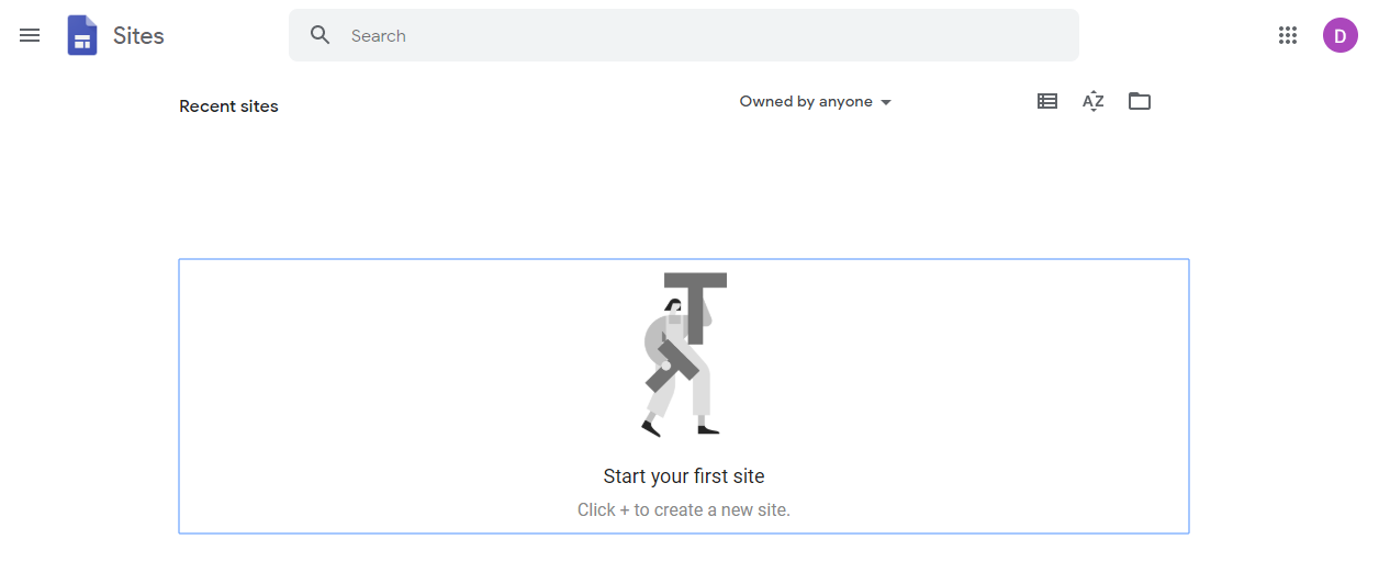 google sites signup